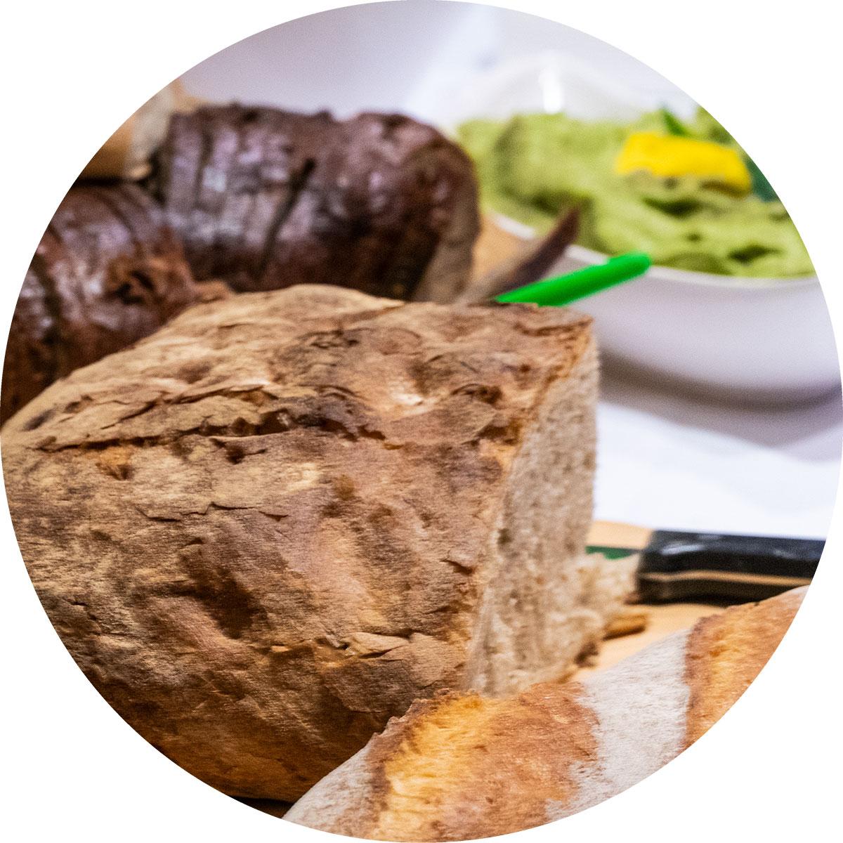 Brote und Dips